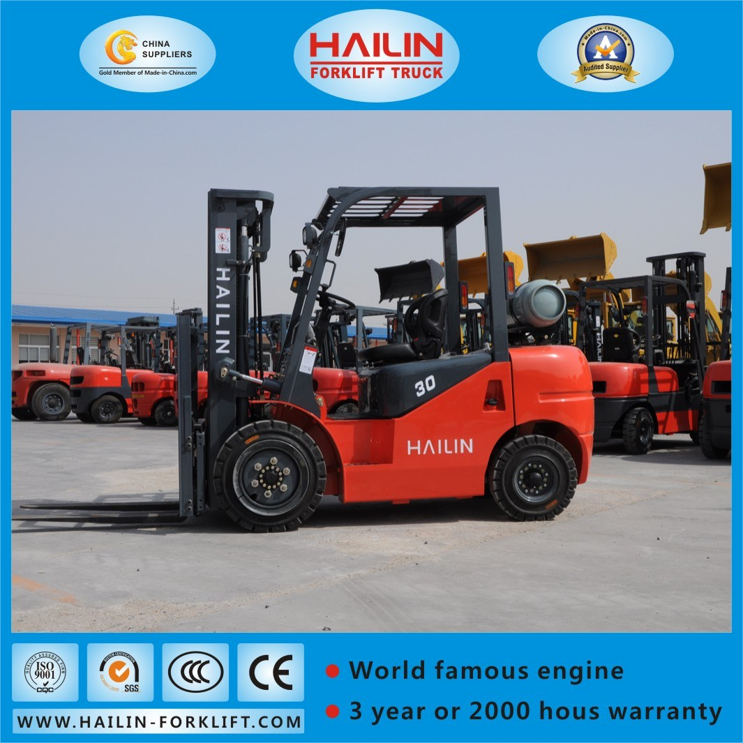 Gasoline Forklift (Nissan engine, 2.5Ton)