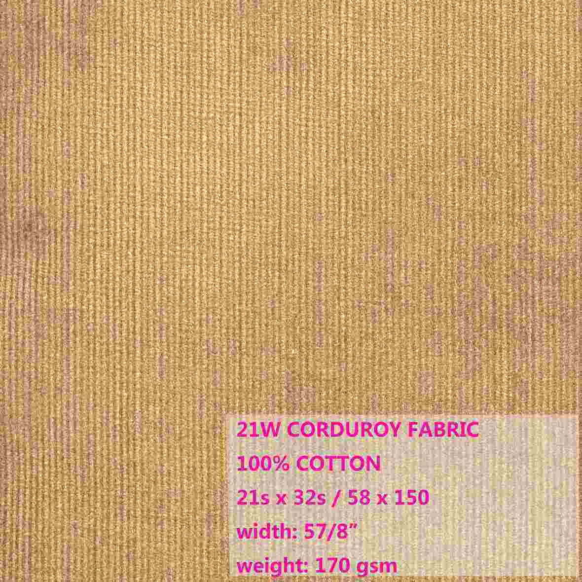 China 100 cotton 21w corduroy fabric esdc10011 china for Corduroy fabric