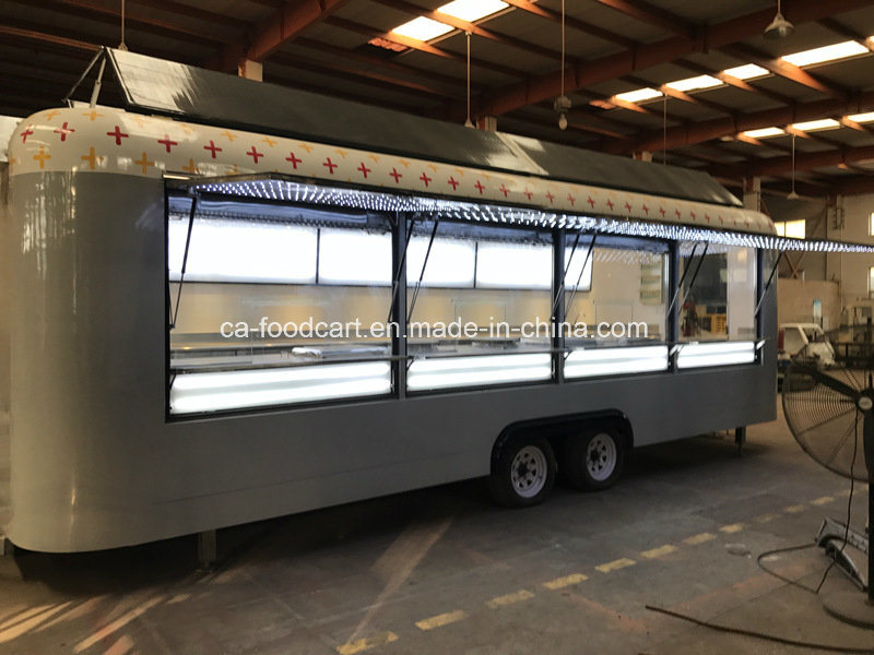 Customized High Quality Double-steel Concession Trailer