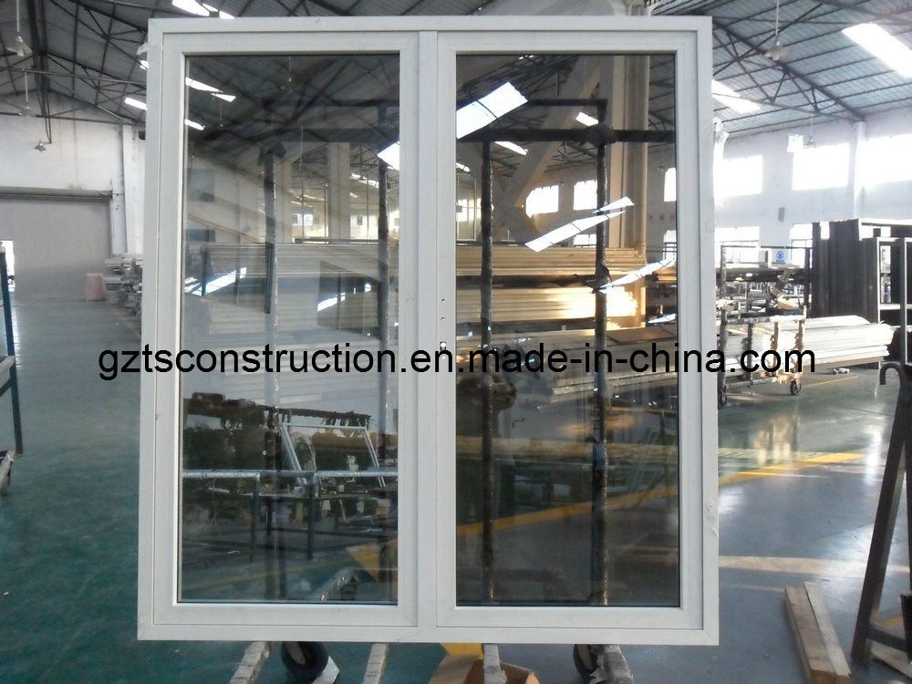 55series Energy-Saving Outside Open Door Aluminum Casement Door