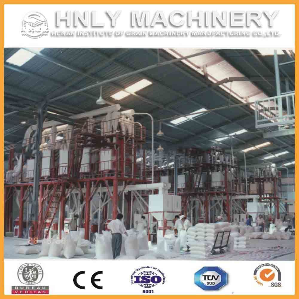 100t/D Complete Low Price Corn Milling Machine/Maize Flour Grinding Mill Machine