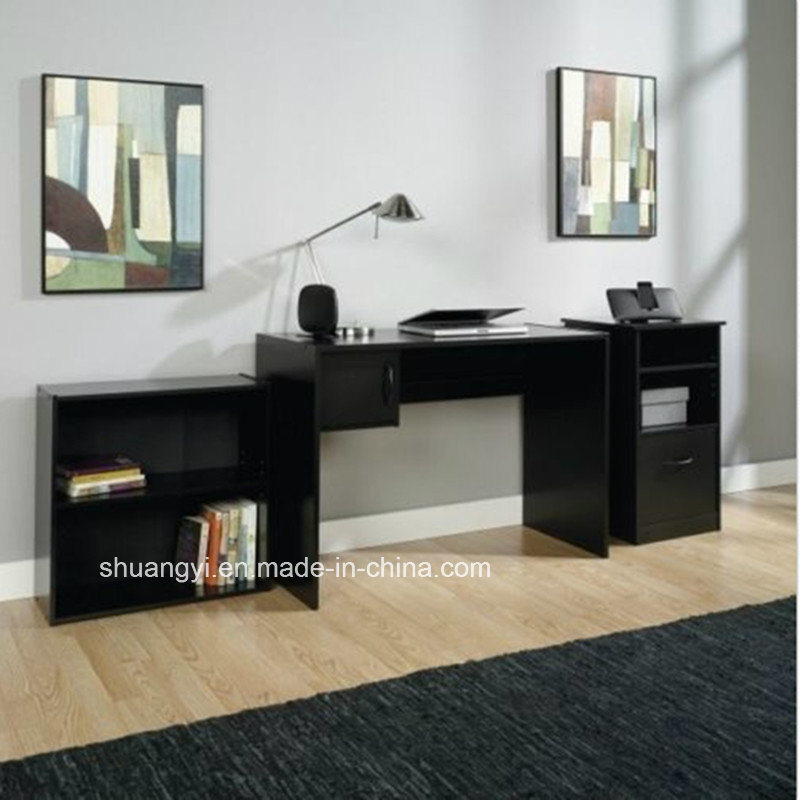 Home Office Student Desk 3-Piece Office Set Computer Furniture