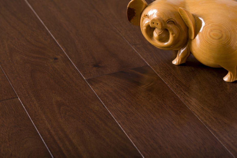 China acacia solid wood flooring acacia b china for Real wood plank flooring