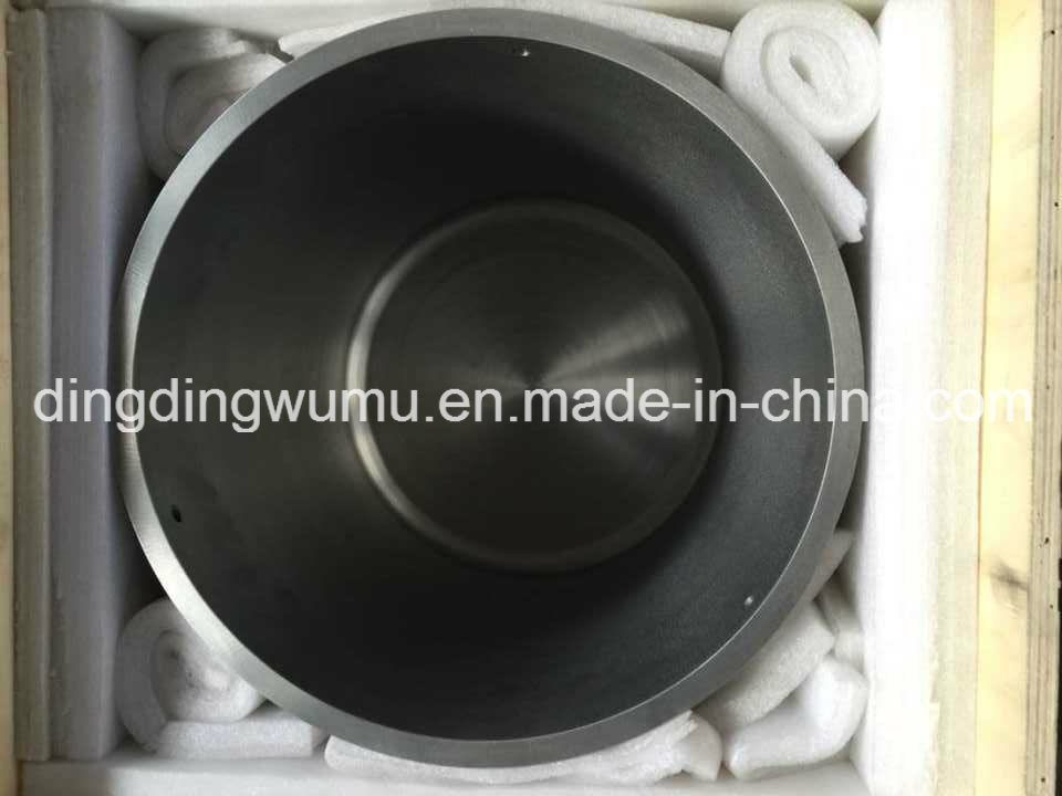 Pure Tungsten Crucible for Vacuum Furnace Melting and Coating