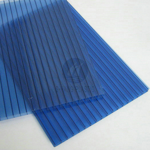 Blue Color Polycarbonate Sheet for Sunshade