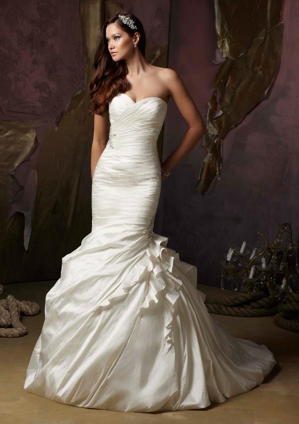 Bridal Ball Gowns Wedding Dress (WMA007)