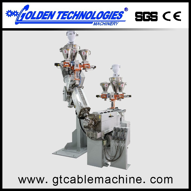 High Speed Automotive Wire Cable Extrusion Equipment Line