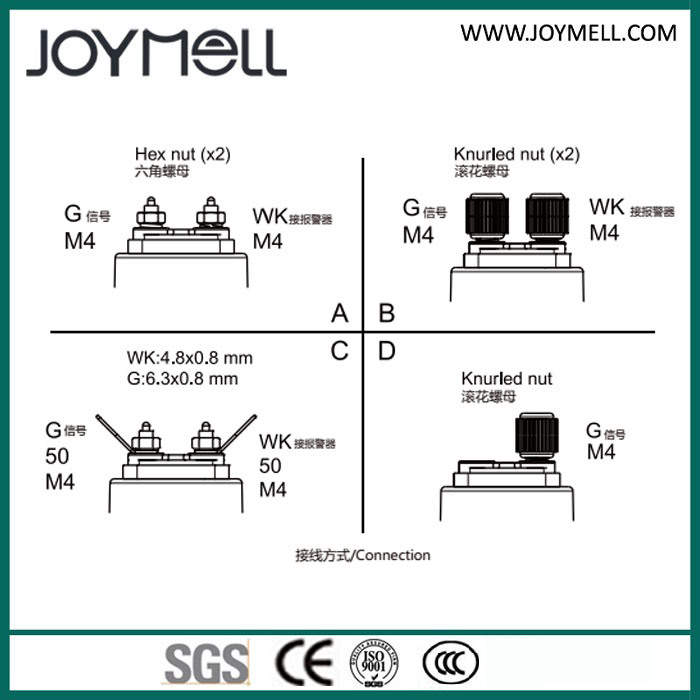 Metal Mechanical Fuel Level Pressure Sensor 0-10bar