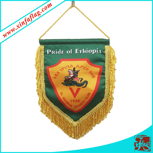 Custom Design Pennants, Polyester Pennants