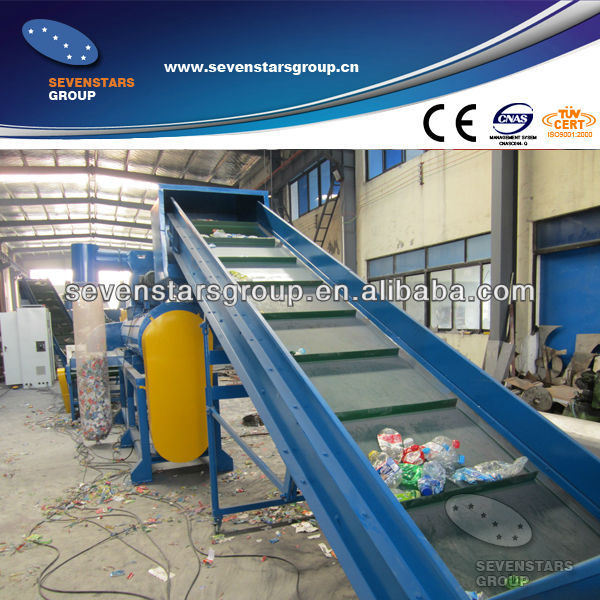 Plastic Pet Bottle Recycling Machine (10 years experience)