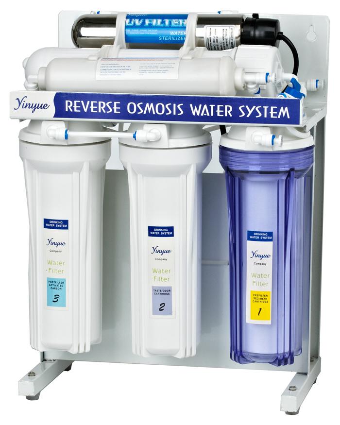 UV RO Water Filter (RO-50G-12)