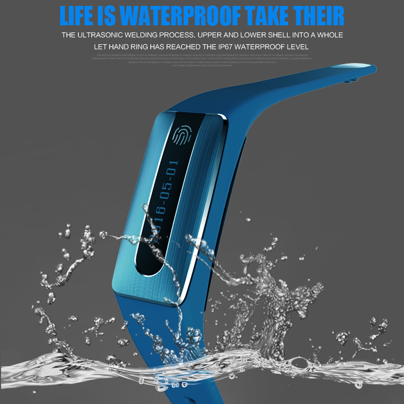 Heart Rate Monitor Smart Bluetooth Bracelet with NFC Function (HB02)