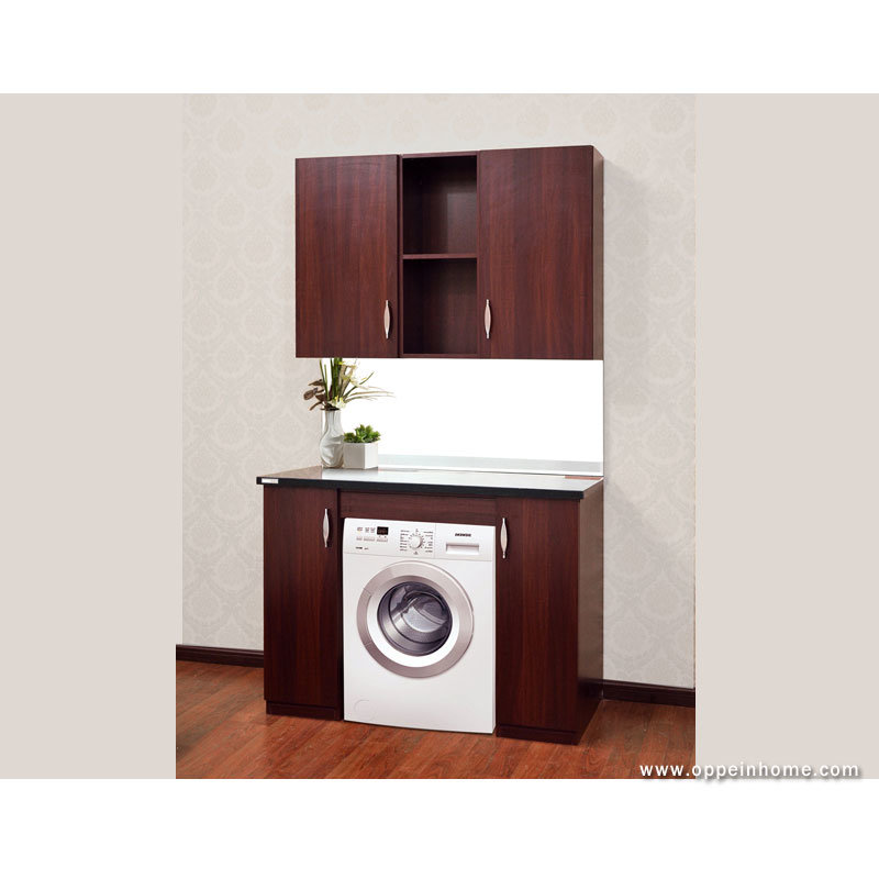 China wooden decorative cabinet with washing machine for Kitchen cabinet washing machine