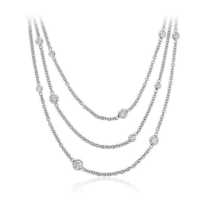 Fashion Jewelry 925 Silver Hotsale Necklace for Decoration
