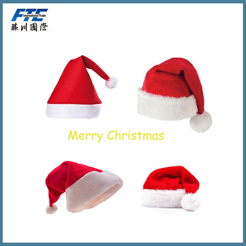 Excellent Quality Christmas Decoration Part Mini Santa Hat
