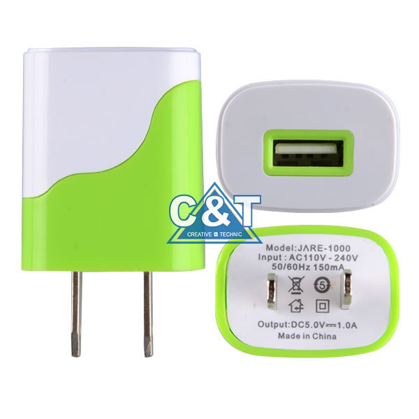 Dual Power Adapter USB Wall Charger for iPhone 6