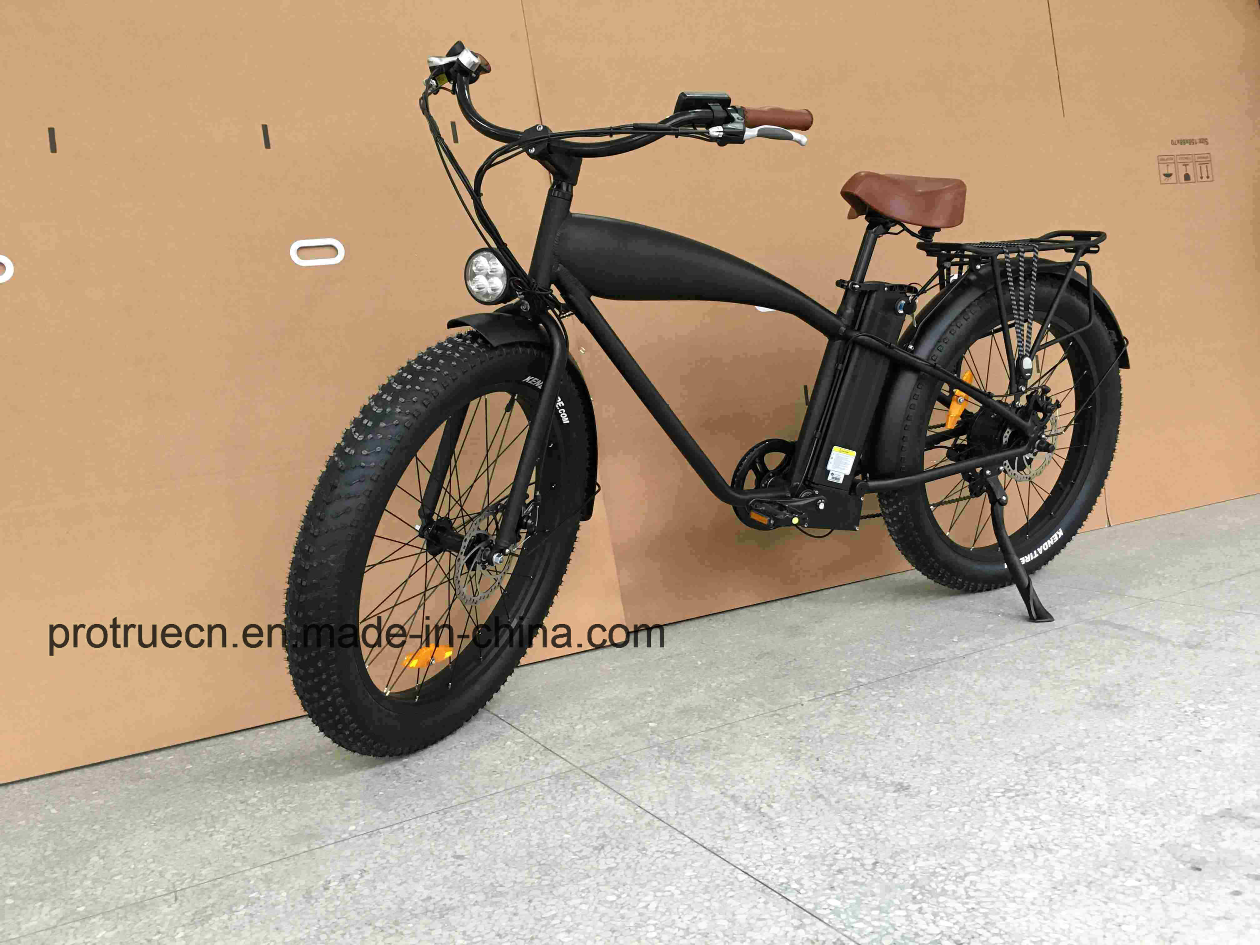 Ce 750W Retro Fat Tire Electric Bike with Rear 8fun Motor