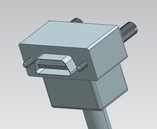 SDR 26pin Mini Camera Link Cable to Right/Left Angle