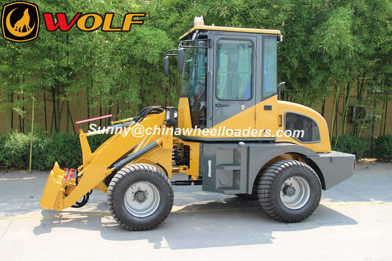 Wolf New Model Zl10 Small Loader with Skid Quick Coupler