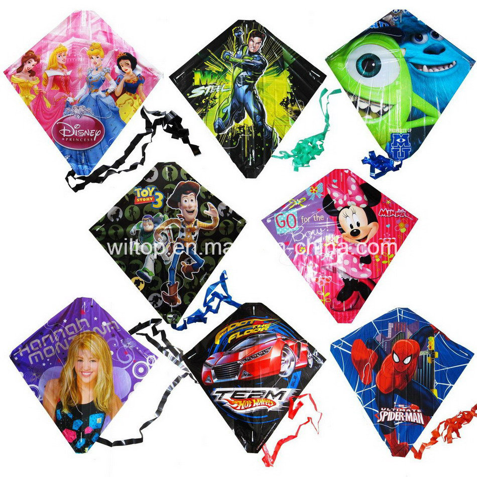 Plastic Funny Kites with Printing (TY004)