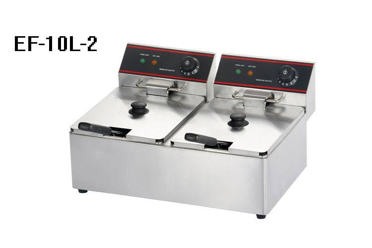 Gas and Electric Deep Fryer for Commercial Kitchen
