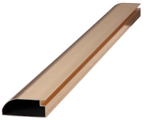 Decorative Construction Aluminum Aluminium Profile with Multi Surface Finishing