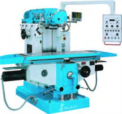 RAM Type Universal Milling Machine with 360 Degree Swivel Angle of Milling Head (X5746)