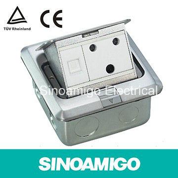 Aluminum Pop up Rectangular Floor Box for UK