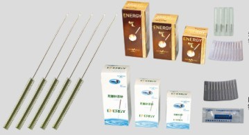 Acupuncture Needles With Spring Handles