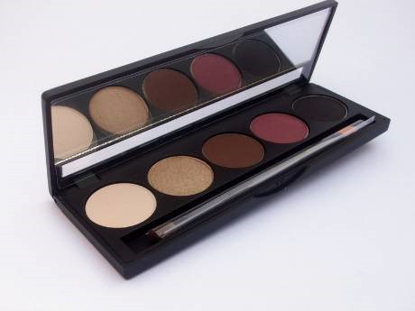 4 Color Eyebrow Shadow, OEM Eye Shadow