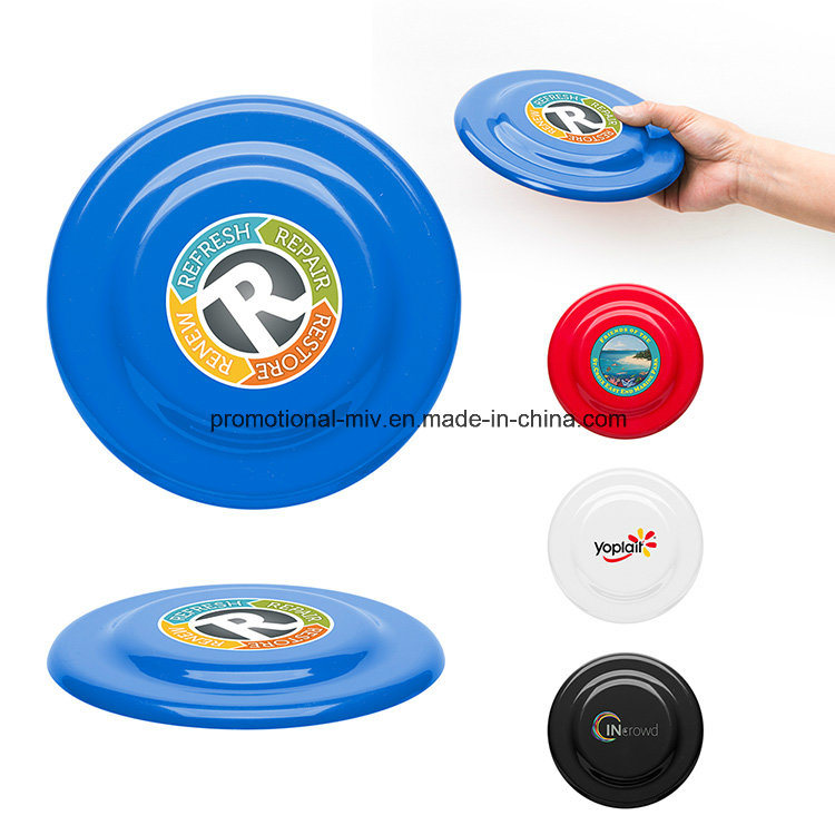 Outdoor Plastic Large Flying Disc with Beveled Center