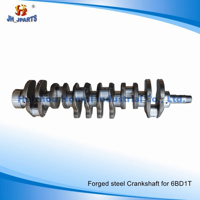 Forged Steel/Casting Crankshaft for Isuzu 6bd1t 6be1 6bf1 6bg1 6he1