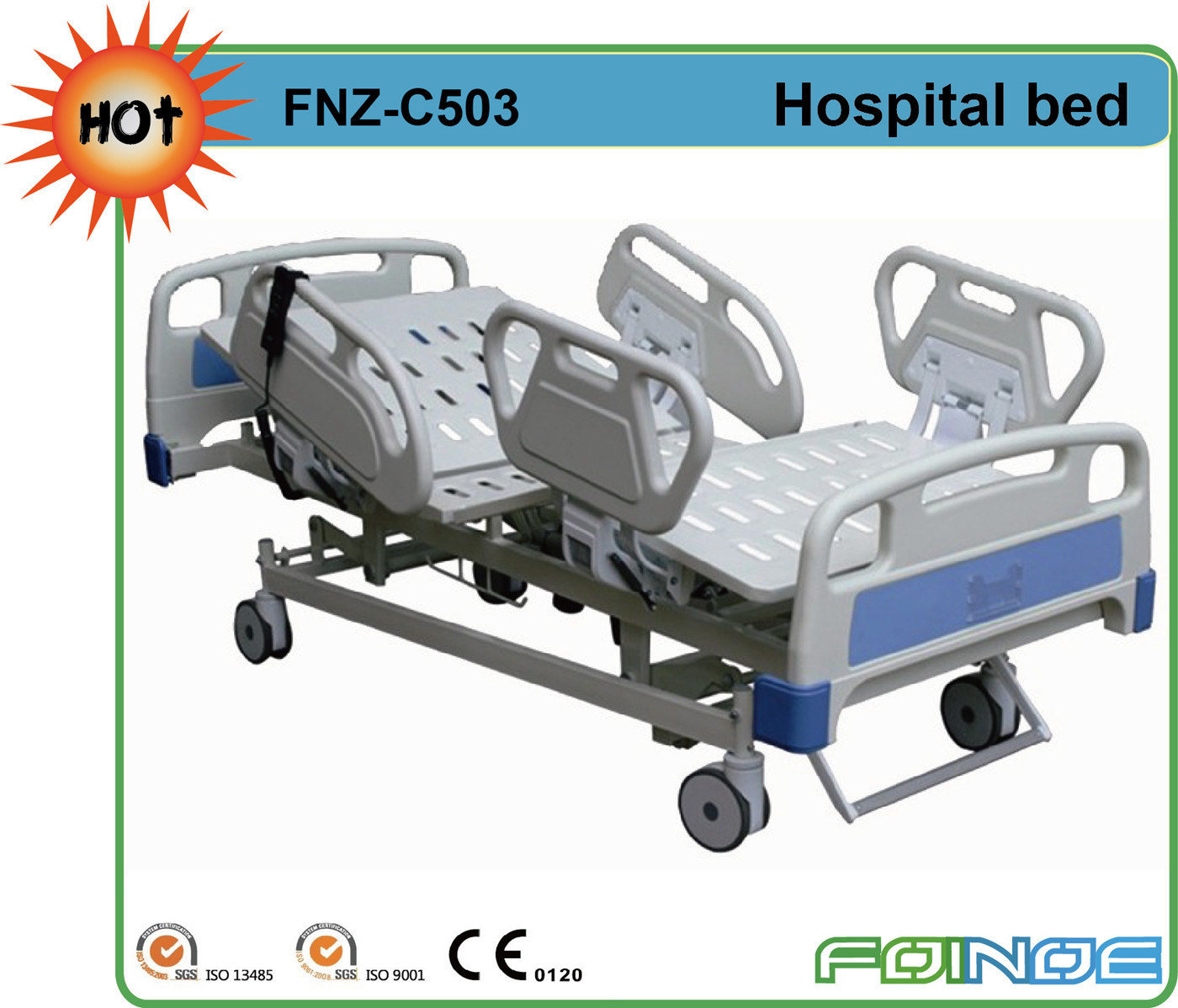 Fnz-C503 Sizes for Hospital Bed with CE