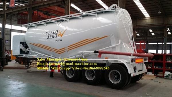 70cbm Dry Bulk Cement Powder Tanker Semi Trailer