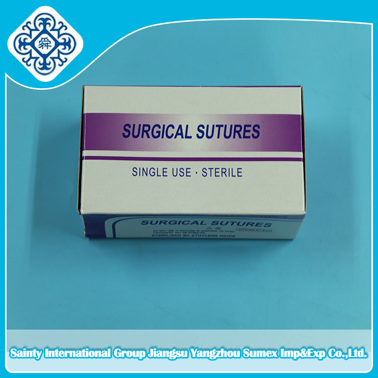 Surgical Suture (Catgut, Silk, Nylon, PGA, PDA) with Ce, ISO & FDA