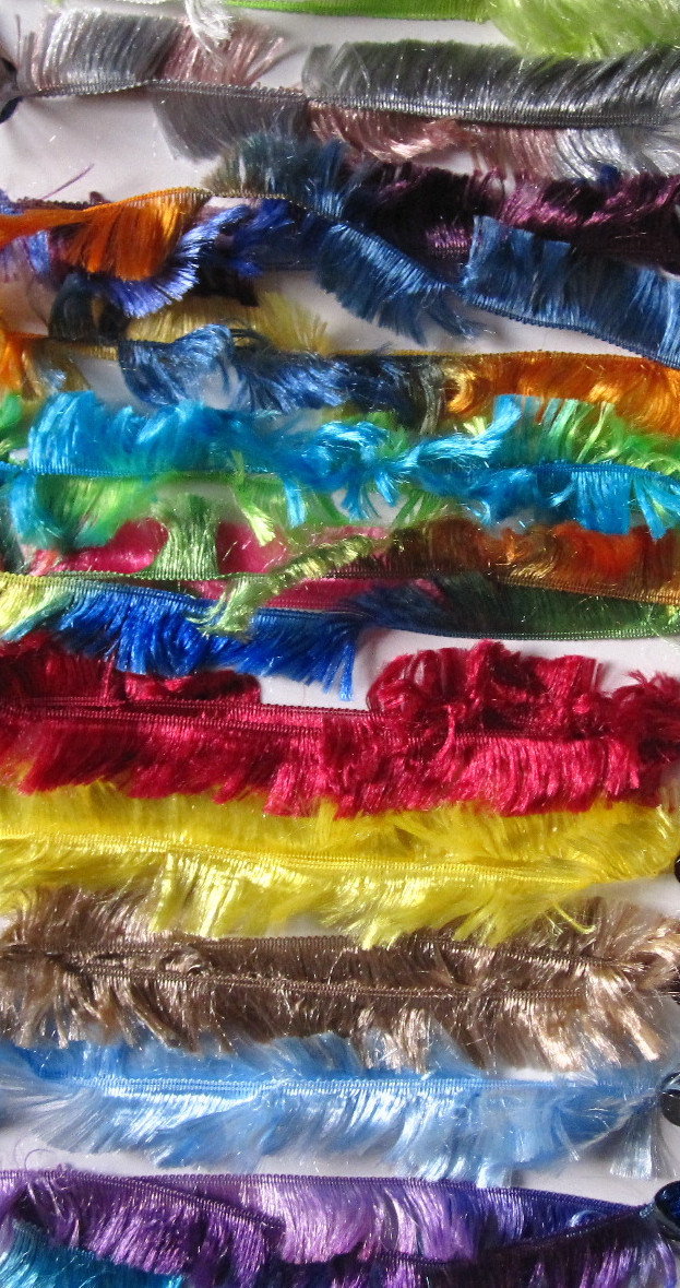 Feather Yarn for Hand Knitting