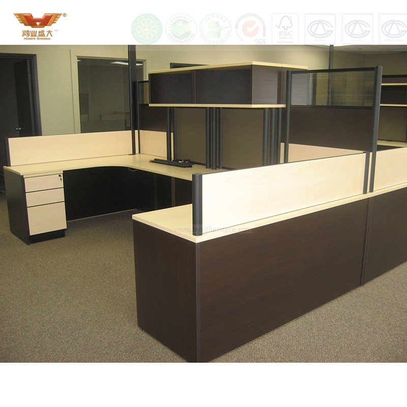 High Quality New Design Modern Straight Office Partition Workstation (HY-2799)