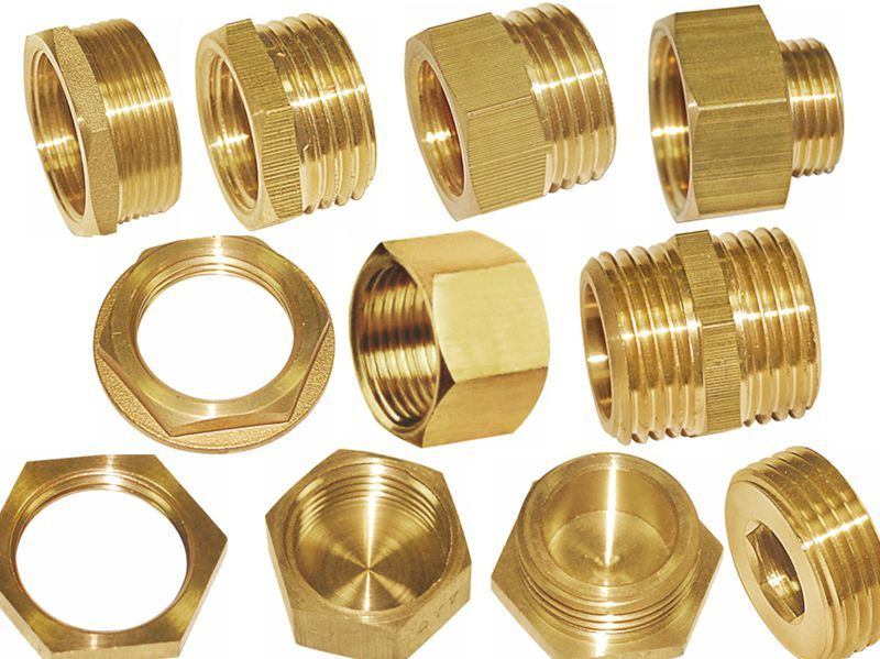 China brass fittings pipe fitting nut full bore