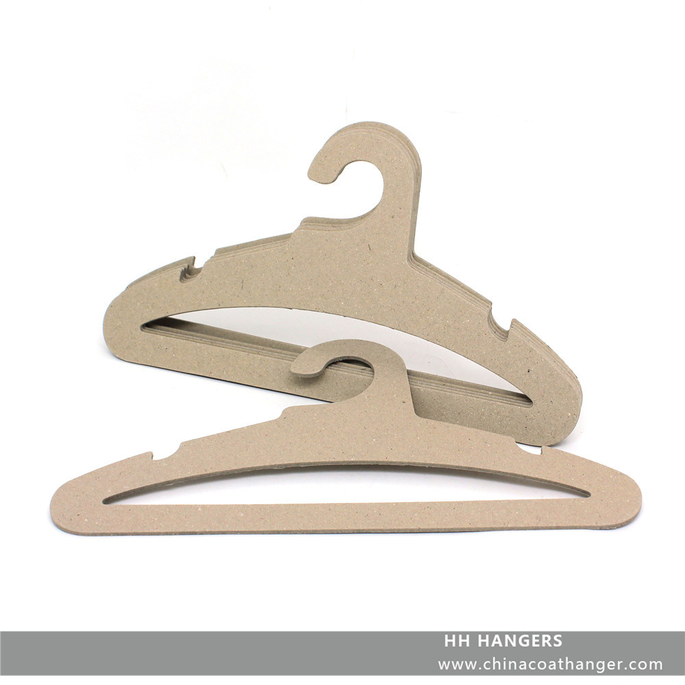 High Load Bearing Fsc Recyclable Paper Cardboard Coat Hanger Hangers for Jeans