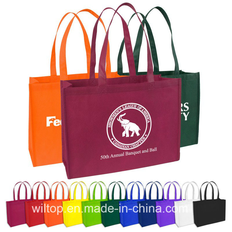 Printed PP Non-Woven Shopping Tote Bags (PM026)