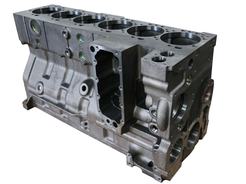 Cummins 6CT Double Thermostat Cylinder Block