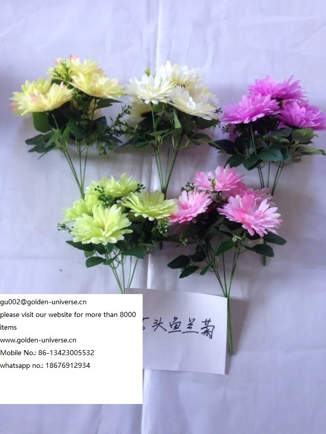 High Quality of Artificial Plants of Small Rose Gu-Po-51005