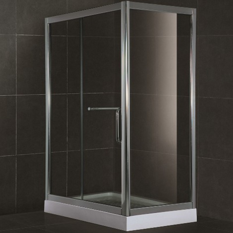 High Quality 8mm Tempered Glass Square Shower Bath Enclosure (SR903)