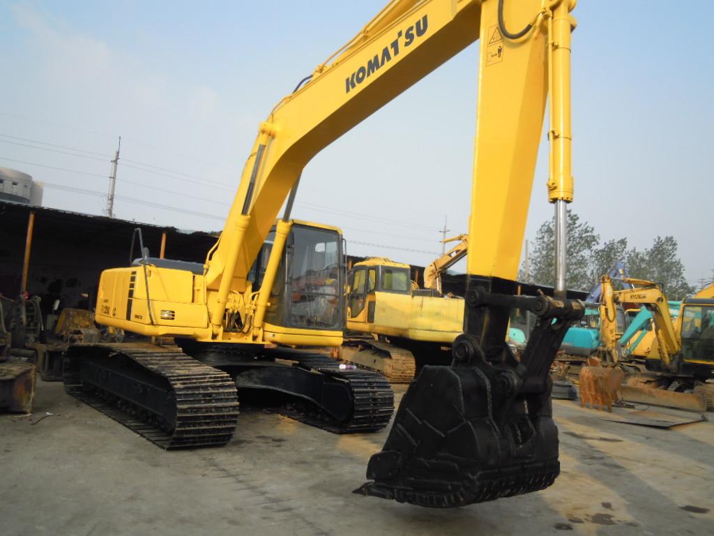 Second Hand Komatsu Used Crawler Excavator PC200-6 Hydraulic Excavator