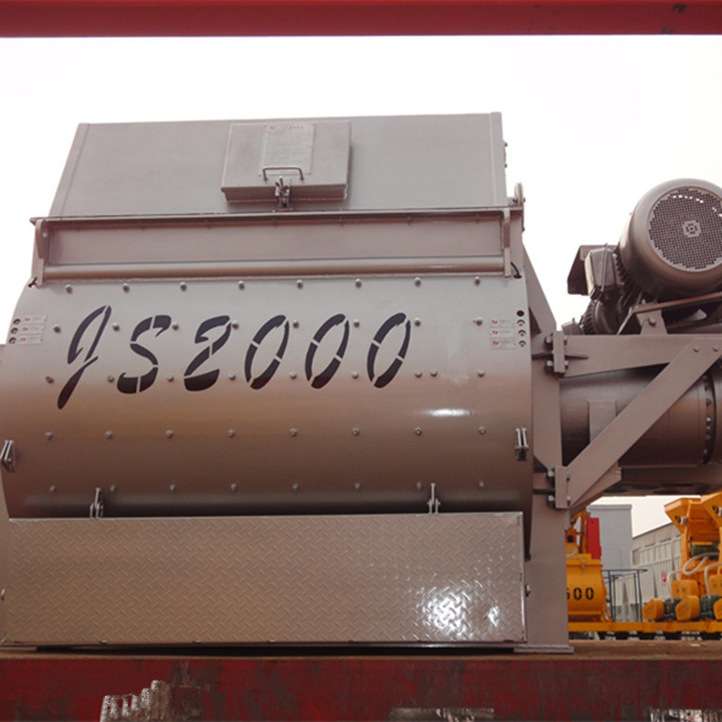Twin Shaft Concrete Mixer (JS2000) for Sale