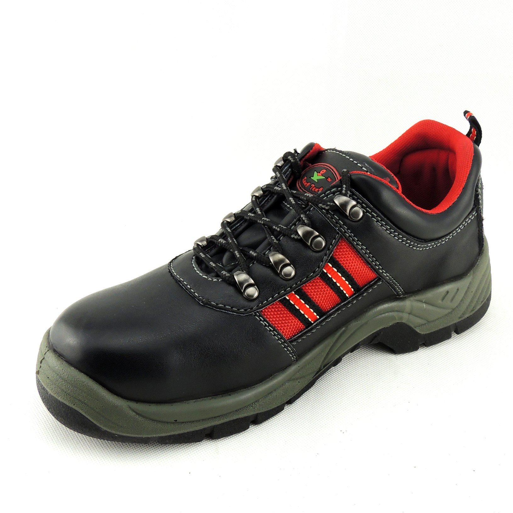 Economic Split Leather PU Sole Anti-Hit Safety Work Footwear