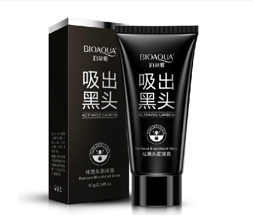 Bioaqua The Black Mask Cream Facial Mask Nose Blackhead Remover