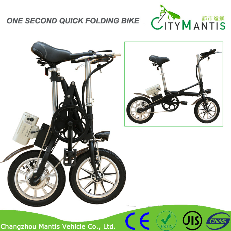 14inch Aluminum Alloy Folding E-Bike (YZTD-7-14)