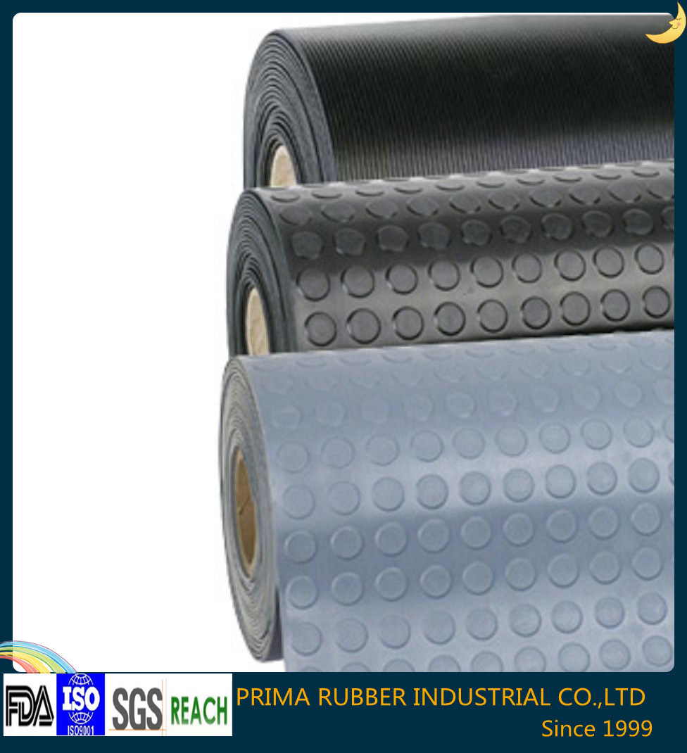 Various Type Anti-Slip Rubber Mat with High Quality