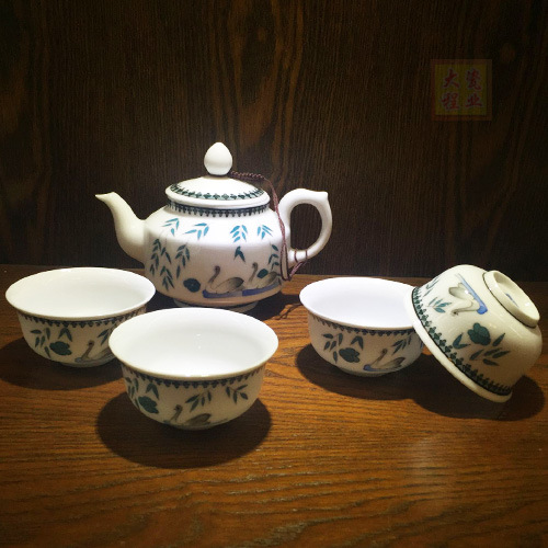 Porcelain Tea Set Bone China Cafe Set Tea Set Mug